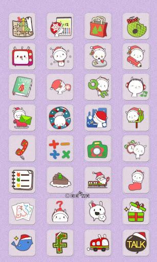 CUKI Theme Cute Santa Icons