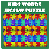 Kids Words Jigsaw Puzzle