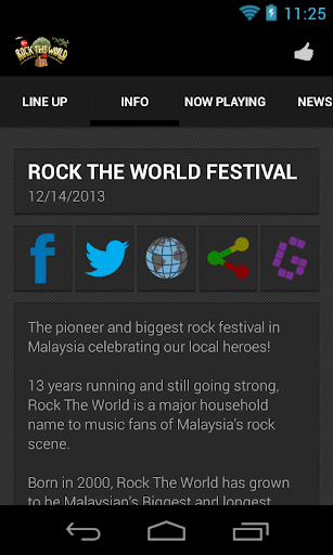Rock The World Festival