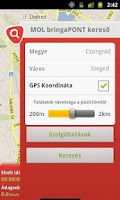 Screenshot of MOL bringaPONT