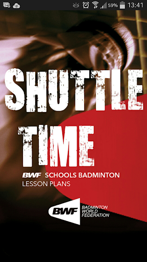 Playing badminton Shuttle Time