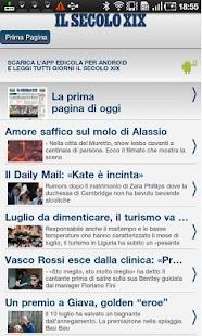 Il Secolo XIX RSS- miniatura screenshot