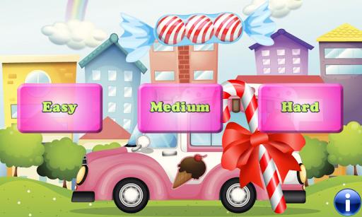 Candy 幼儿的记忆游戏