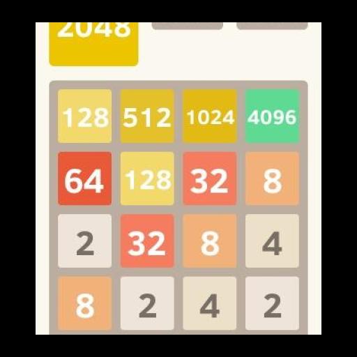 2048数字益智游戏 休閒 App LOGO-APP試玩