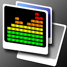 Equalizer 3D LWP simple icon