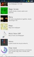 Screenshot of Music Note LWP