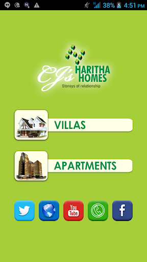 【免費商業App】Haritha Homes-APP點子