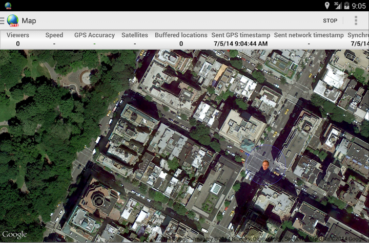 Real-Time GPS Tracker 2 Screenshot