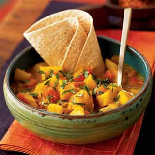 Potato Roti Curry.
