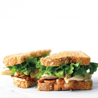 Chicken, Avocado, and Bacon Sandwich.