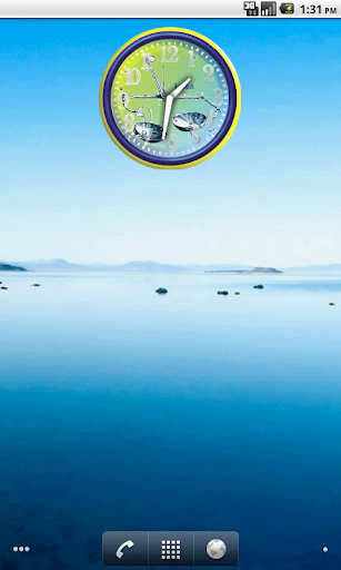 Bilancia Zodiac Analog Clock