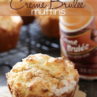 Creme Brûlée Muffins