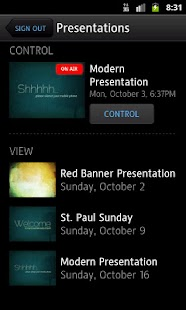 Proclaim Remote - screenshot thumbnail