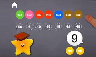 Screenshot of Multiplication Fun