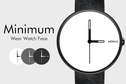 Minimum Wear Watch Face