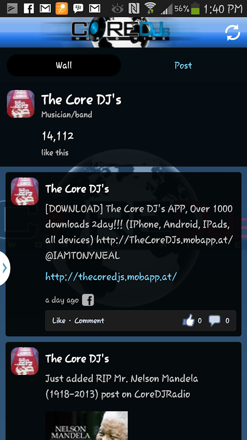 The Official Core DJs - screenshot