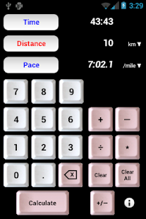 Athlete's Calculator- screenshot thumbnail