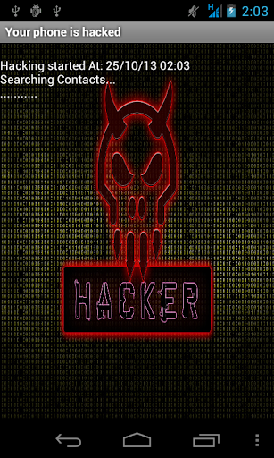 Your phone is hacked