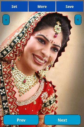 Indian Bride Makeup Wallpapers Screenshot
