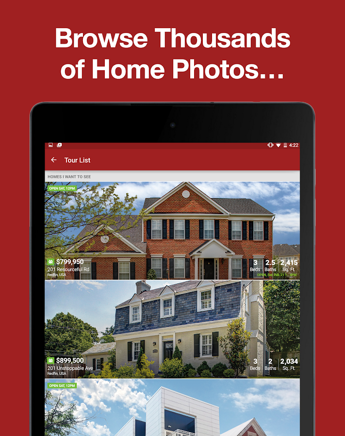 Real Estate App: Search Homes - screenshot
