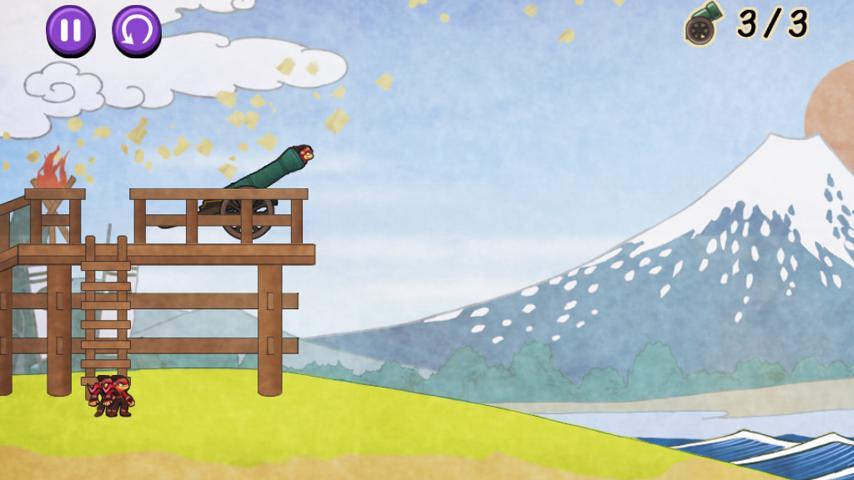 NINJA BAZOOKA GAIDEN- screenshot