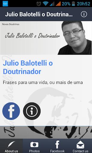 Julio Balotelli O Doutrinador