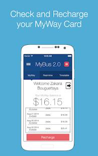 MyBus 2.0 Canberra - screenshot thumbnail