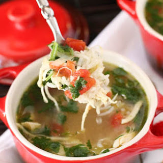 Green Chili Chicken and Lime Soup.