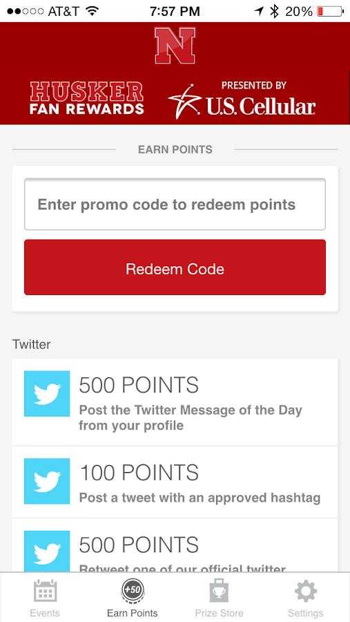 Big Red Rewards - screenshot