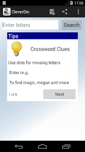 CleverDic Crossword Solver- screenshot thumbnail