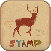 Stamp go launcher theme