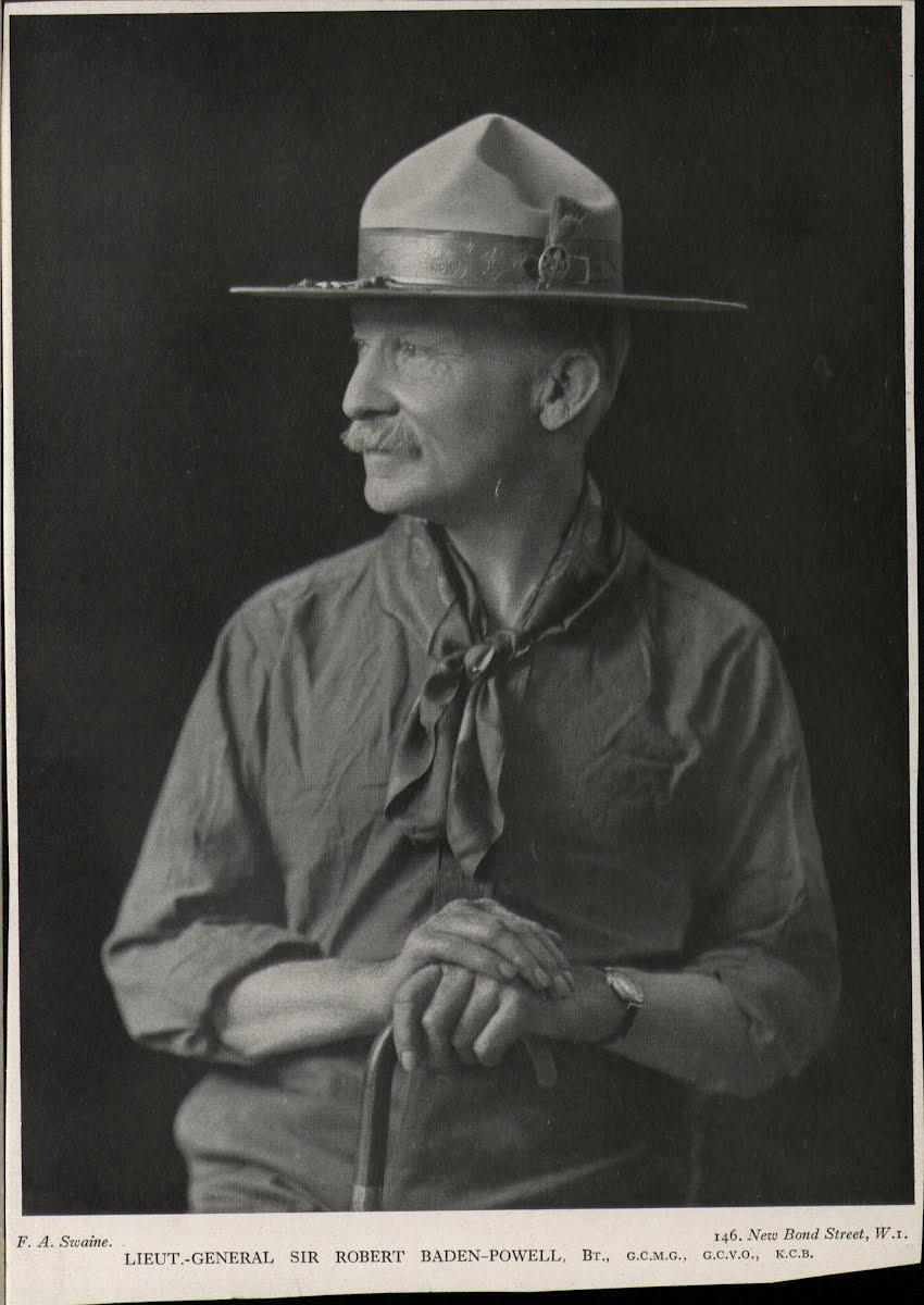 Robert Baden Powell Google Arts Culture