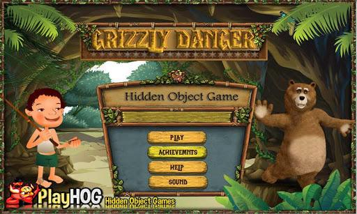 Grizzly Danger - Hidden Object