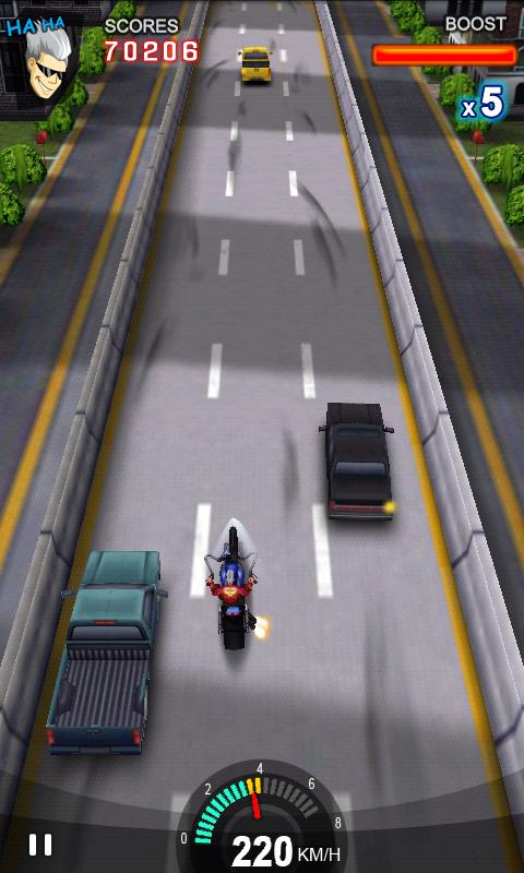Racing Moto- screenshot