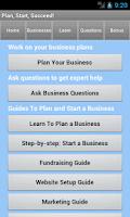 Screenshot of Small Business Coach & Plan