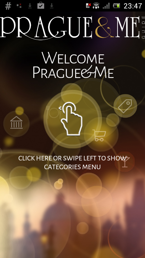 Prague&Me tourist guide- screenshot