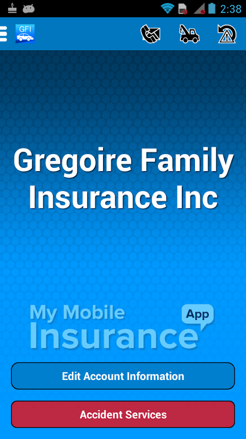Gregoire Family Insurance- screenshot