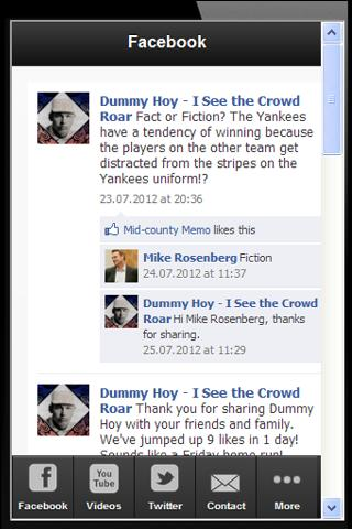 Dummy Hoy App - screenshot