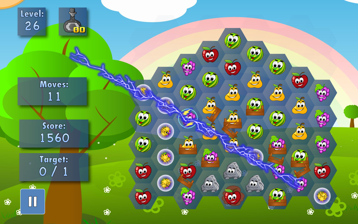 Fruit Farm Deluxe- screenshot