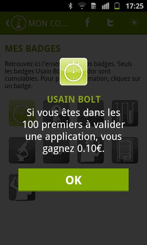 Appli Privée- screenshot