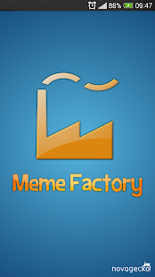 Meme Factory - Meme generator - screenshot thumbnail