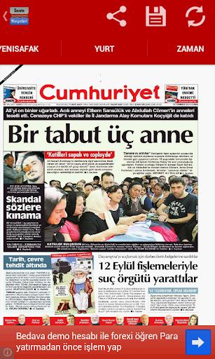免費下載新聞APP|Gazete Manşetleri Droid app開箱文|APP開箱王