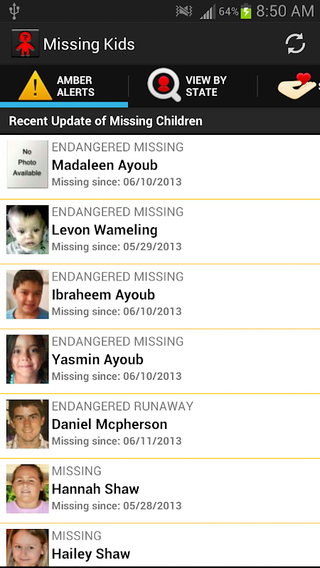 recent missing kids - 450×800
