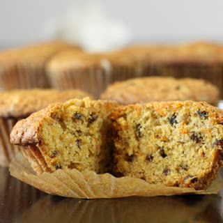 Carrot Muffins With Raisins
