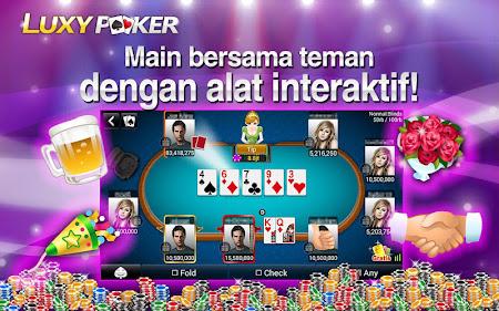 Poker: Luxy Poker Texas Holdem 1.2.2 screenshot 227161