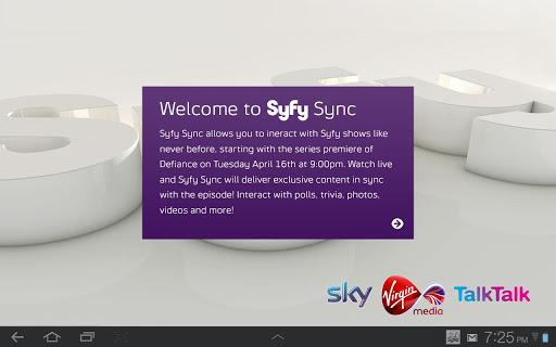 Syfy Sync UK