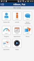 Screenshot of AccuLynx Field App