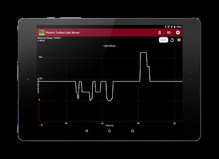 Physics Toolbox Light Sensor - screenshot thumbnail