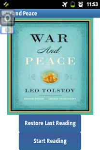 Ebook War and Peace