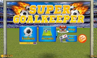 Screenshot of Super Goalkeeper - Soccer Game